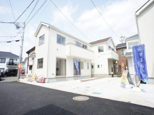 入間市東藤沢8丁目  新築戸建  全4棟[2,390万円~]